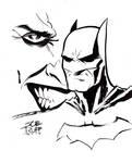 Batman Sketch 2