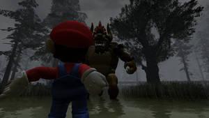 Mario vs Giga Bowser by yamilhypershadicpro1