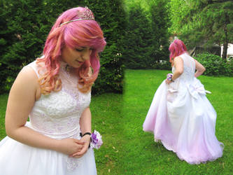 Altered prom dress by ColorCoatedCalico