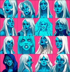 Blue Diamond - Vibes challenge