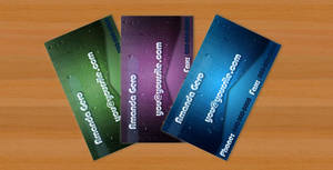 Water Style Business Card