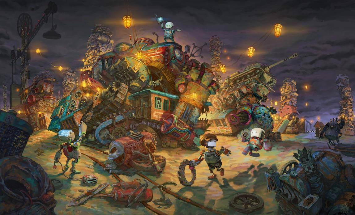 robots.01 by Vamp1r0