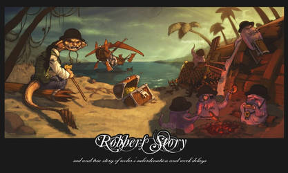 Robber's Story by Vamp1r0