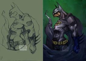 Batman lines n color