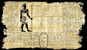 Nyarlathotep in hieroglyphics