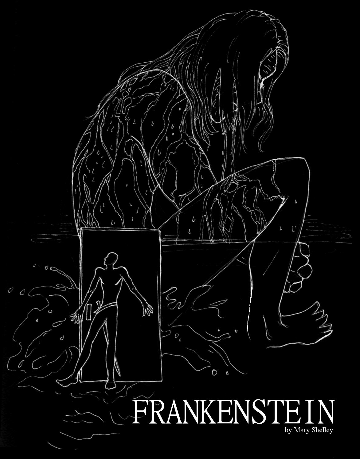 Frankenstein Book Cover Art ~ Frankenstein book cover by bastardized on deviantart