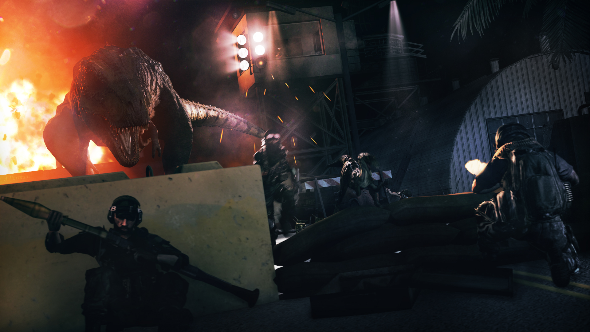 Battlefield 3:They've Hit Without a Warning by DP-films