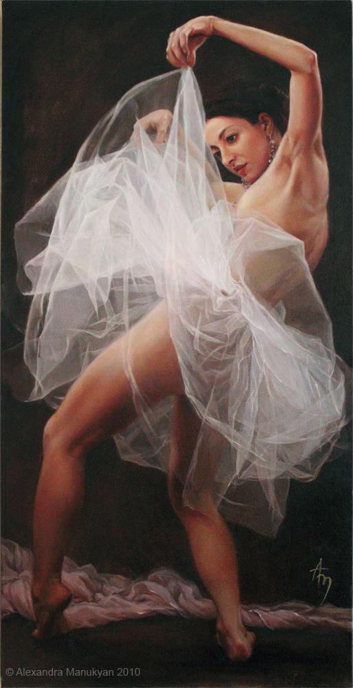 Ballerina by alexandramanukyan