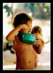 Eduardo Eating