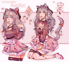 Cat girl neko AUCTION (OPEN) by kimchisg00d