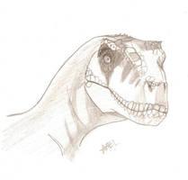 Velociraptor by dollrandir