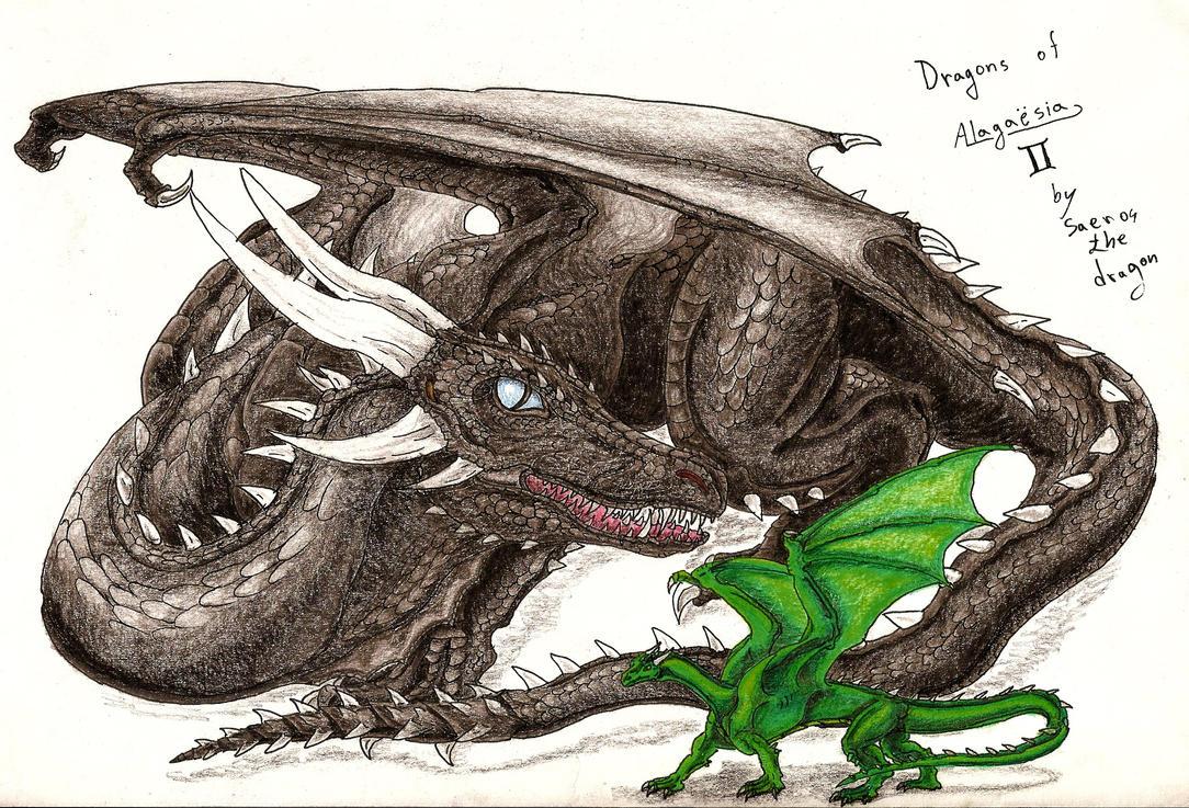Dragons of Alagaesia I... Eragon And Arya Drawings