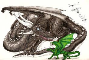 Dragons of Alagaesia II by Saeros2006