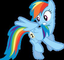 Mane 6 Series - Rainbow Dash - Sonic Rainboom by Starnight5