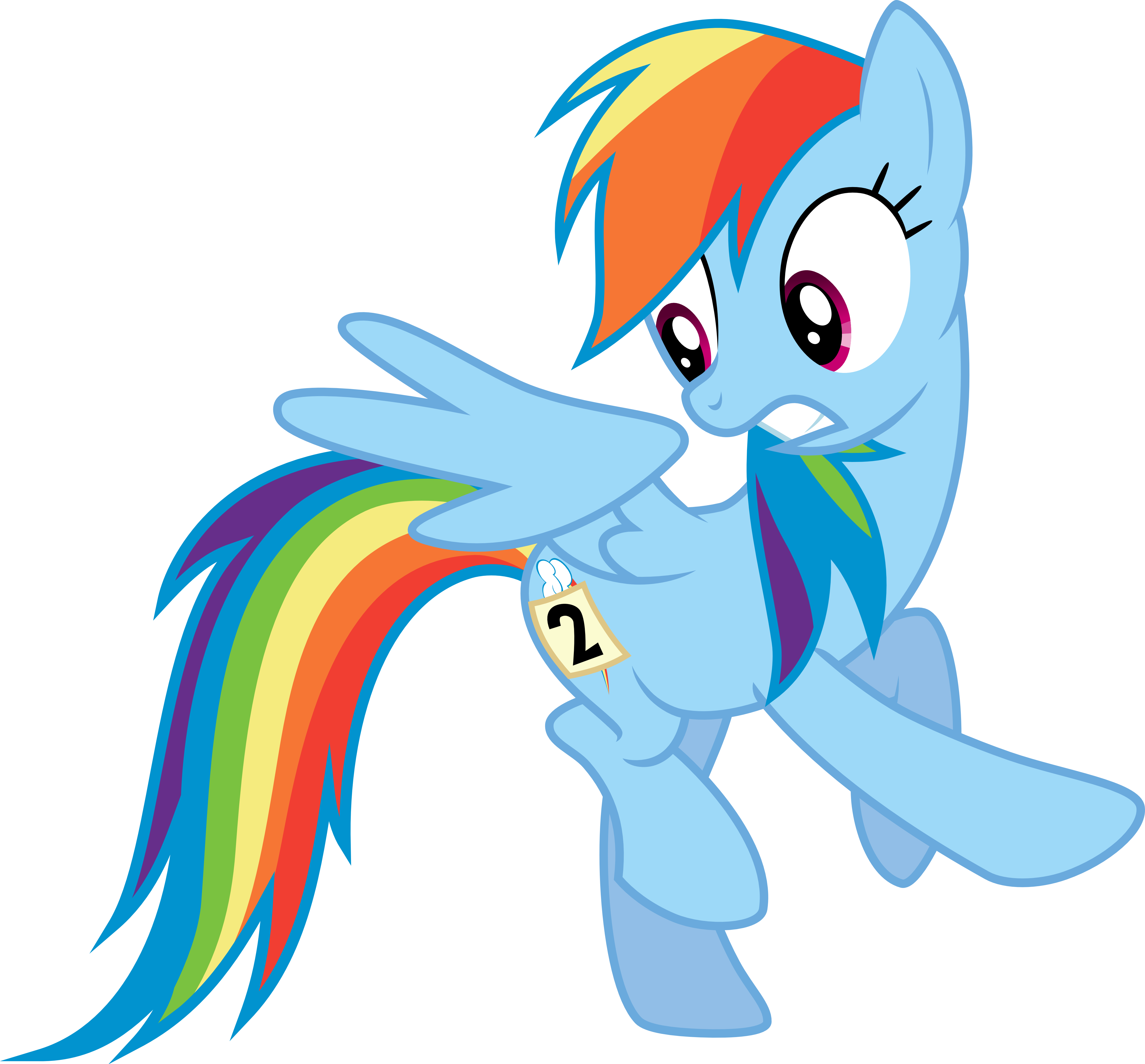 Mane 6 Series - Rainbow Dash - Sonic Rainboom by ...