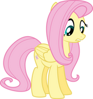 M6 - Fluttershy - Putting Your Hoof Down by Starnight5