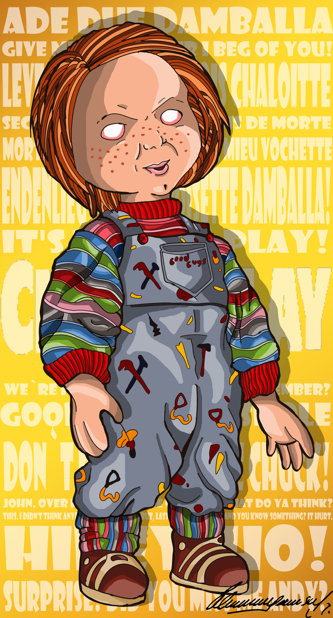 Charles Lee Ray (Chucky) - Childs Play (1988) ASW by ...