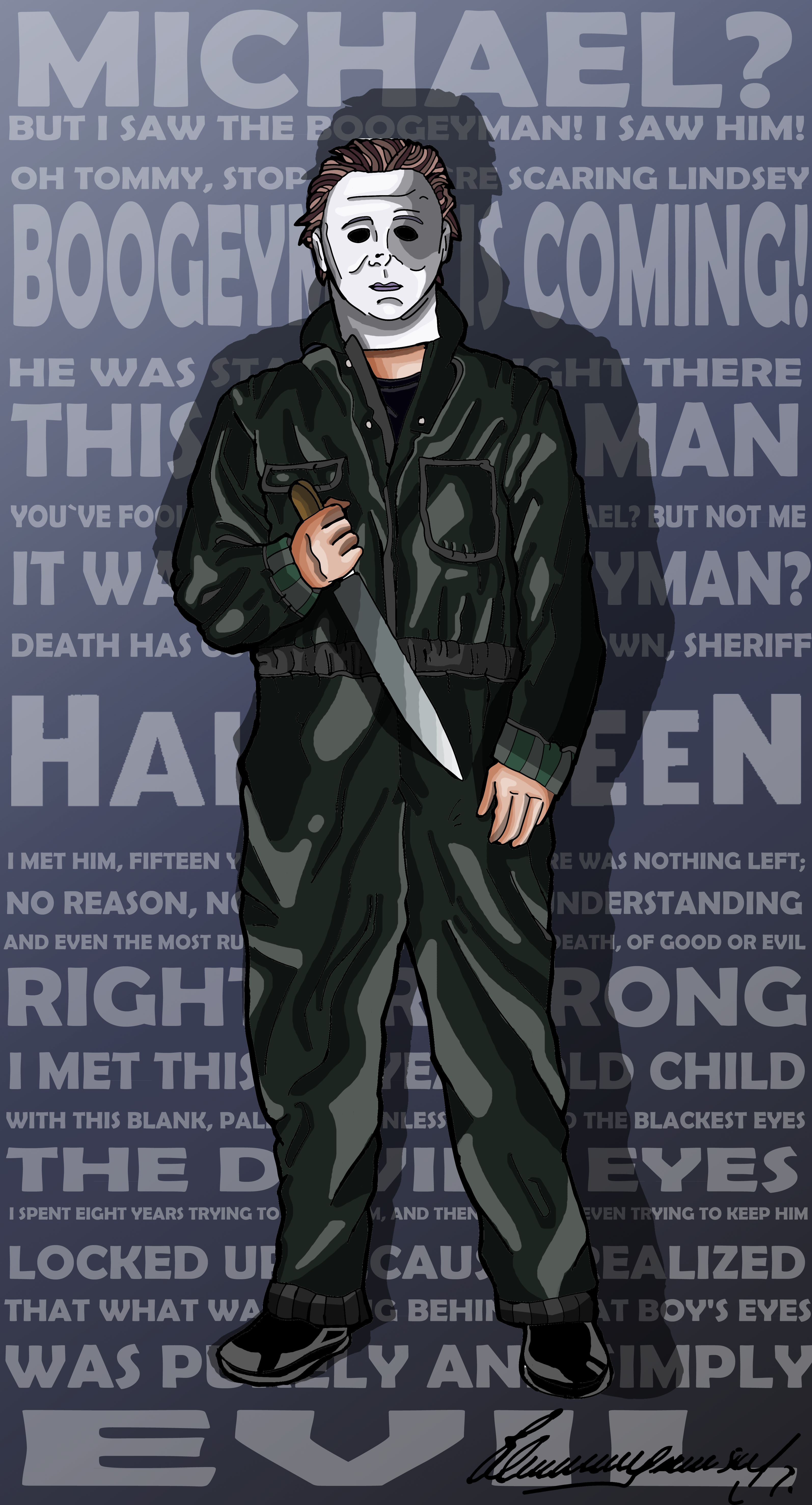 Michael Myers - Halloween (1978) By Alejandro SW by ...