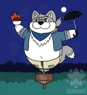 My Neighbor Big Totoro Waff