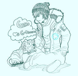 G-Dragon and Gaho by JD-SPEEDbit
