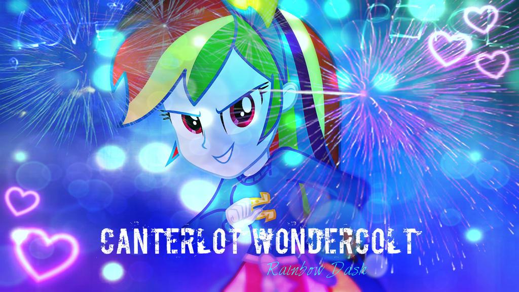Rainbow Dash EG Wallpaper 2 by mumble76