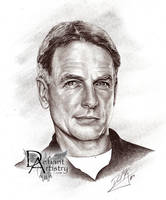 Mark Harmon - Jethro Gibbs by DefiantArtistry