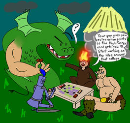 TROGDOR!! is definitely not in his comfort zone by same-old-davey