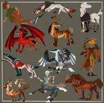 Geometrique characters