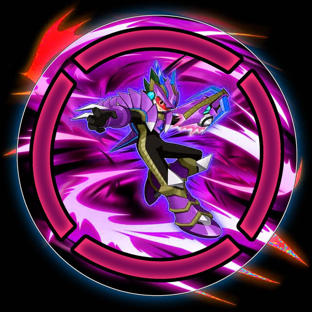 Megaman Starforce Wind Dragon Mode (Purple) by SwedishX25 ...
