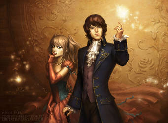 Mae and Aedan by kir-tat