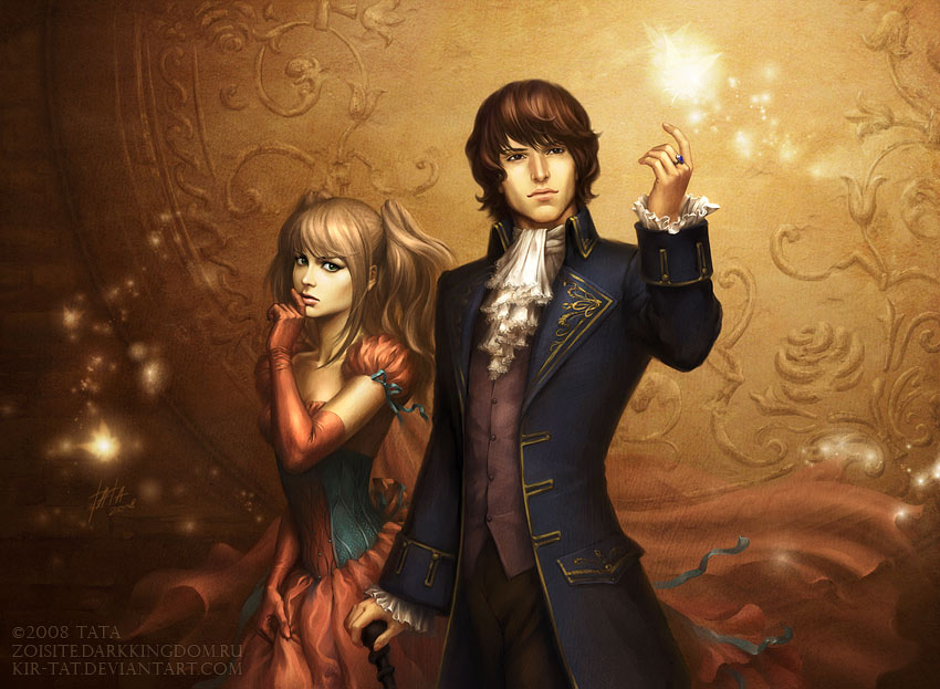 ◊ Personnages Prédéfinis ◊ Mae_and_Aedan_by_kir_tat