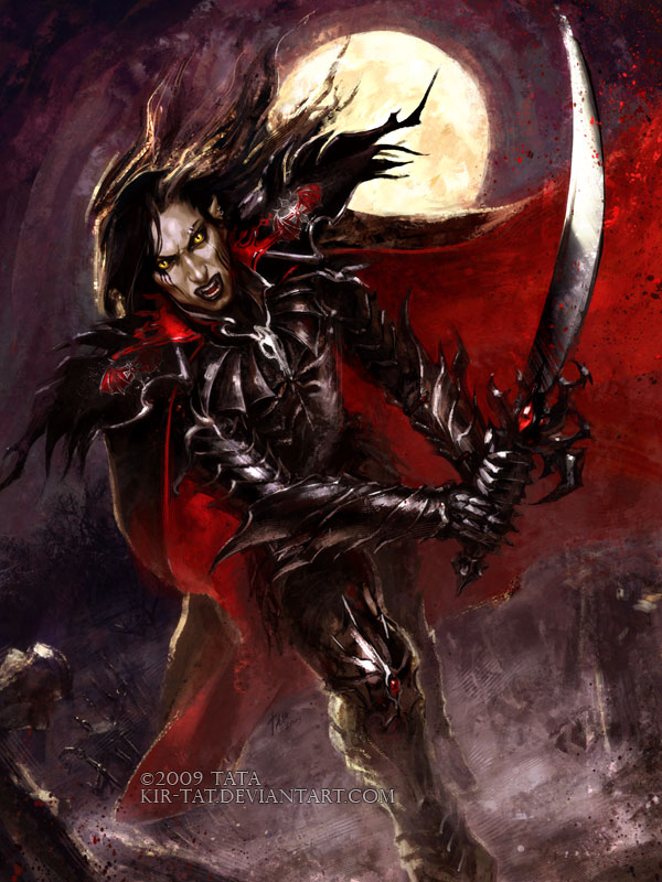 Vampire Warrior by kir...