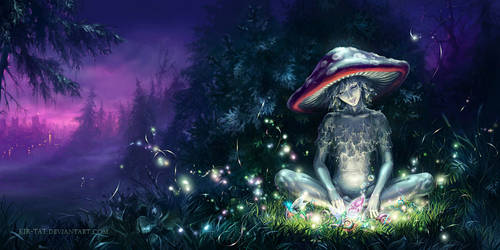 The Mushroom's Tale by kir-tat