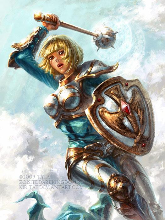 Warrior Sveta by kir-tat