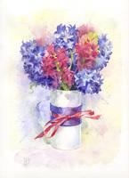 Hyacinths by kir-tat