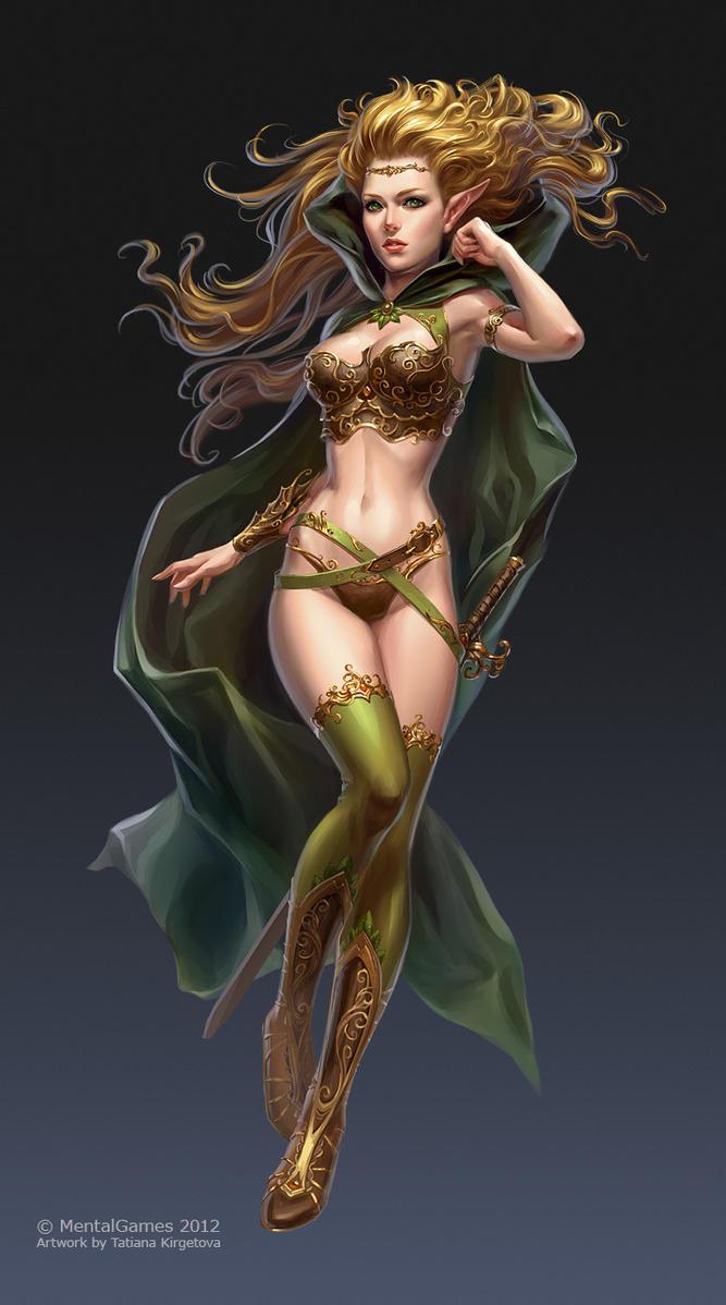 Elf girl by kir-tat