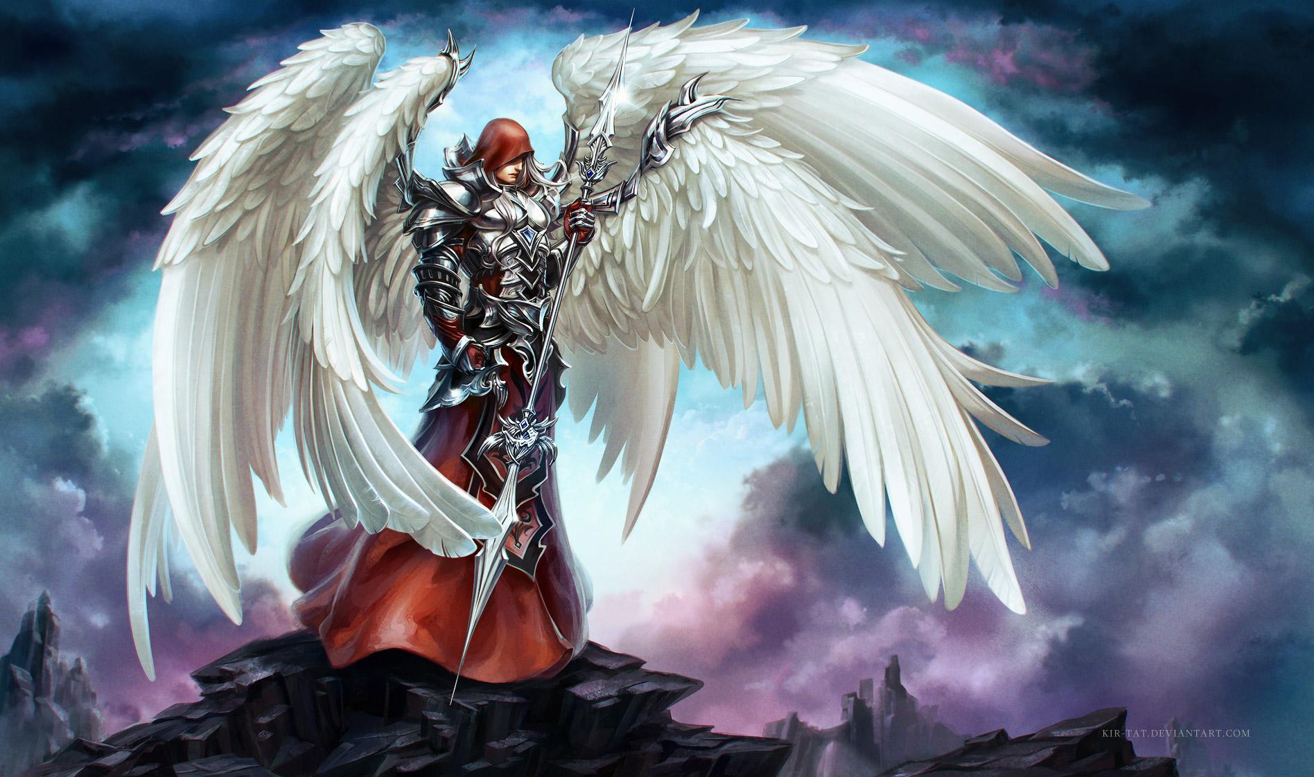 Обои для рабочего стола архангел гавриил