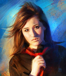 portrait by kir-tat