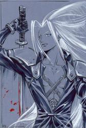 Sephiroth by kir-tat