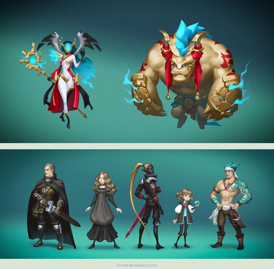 characters by kir-tat