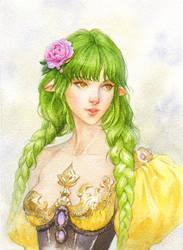 Green braids
