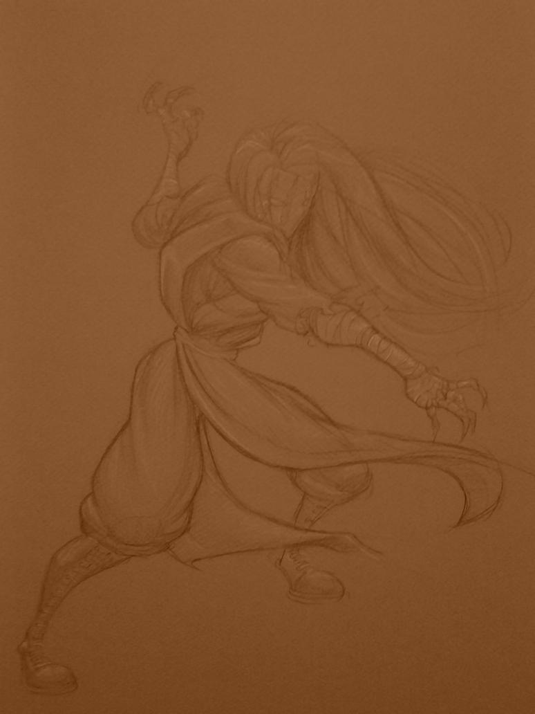 Yoko the Chimera by DanteLee1979