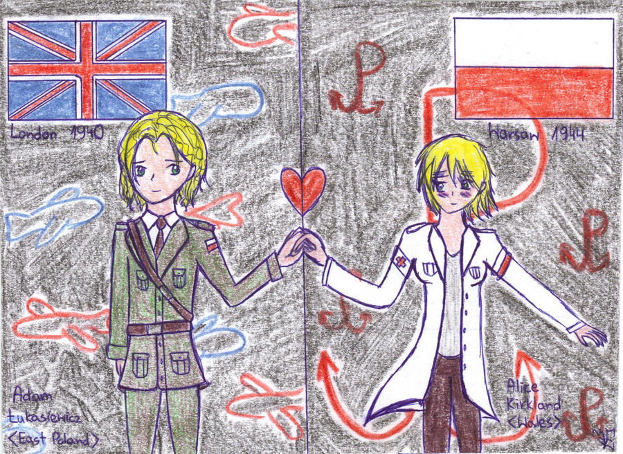 aph: Eastern Poland x Wales (during II WW) by LoveEmerald