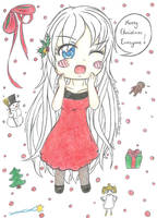 aph: Merry Christmas Everyone!! Q3Q by LoveEmerald