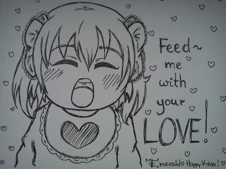 W.I.P.: Feed me with your love! :.