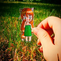 aph: Ai in the grass. by LoveEmerald