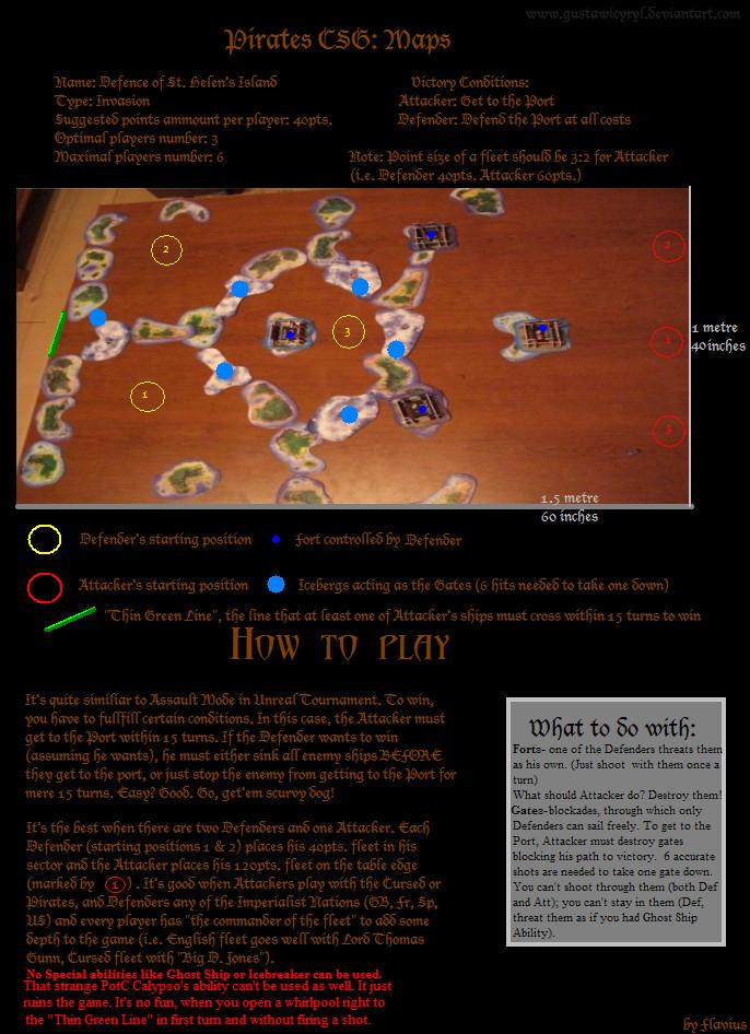 Defence of St. Helens scenario