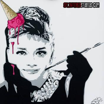 Audrey Ice Cream Hepburn