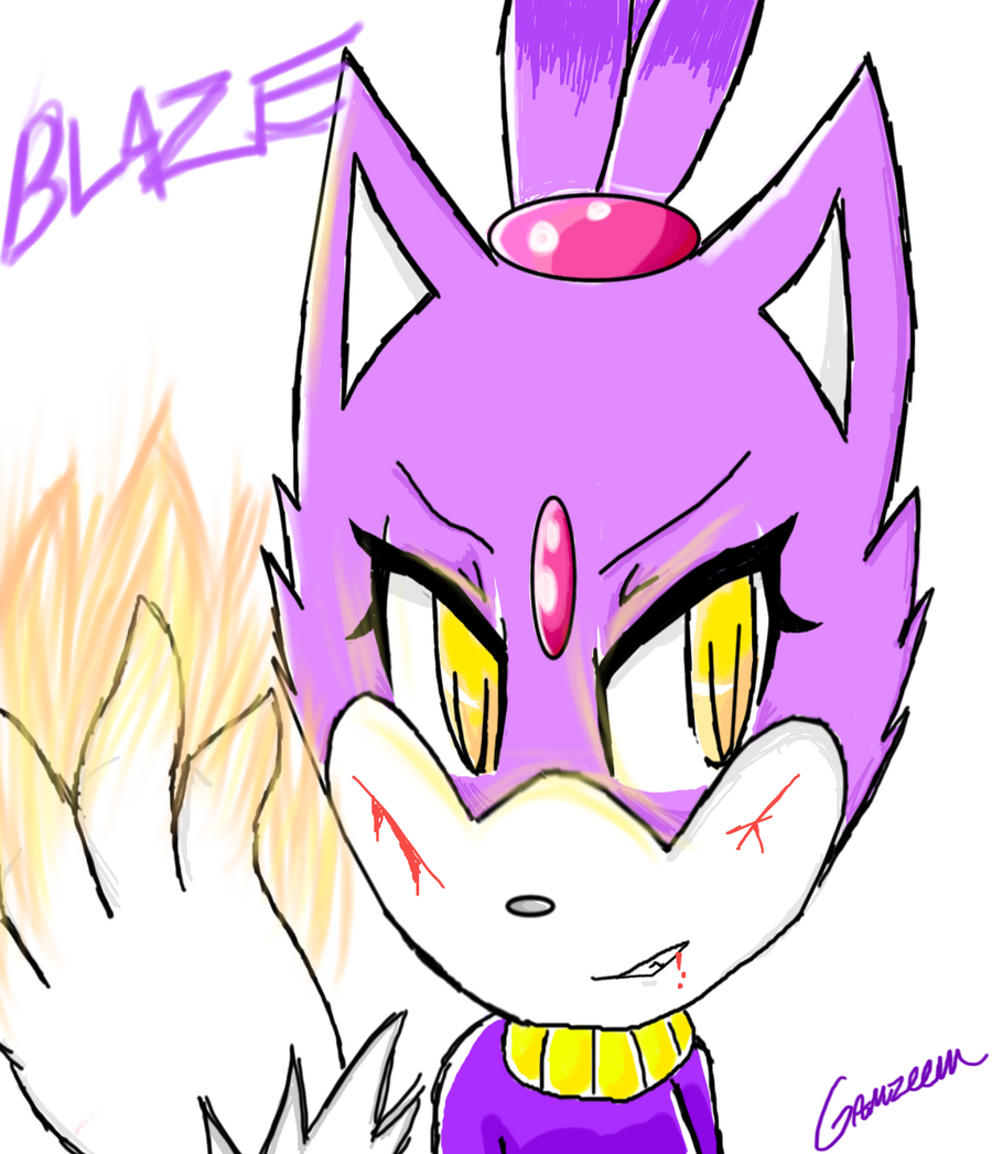 Blaze by Gamzeem