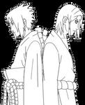Sasuke x Kimimaro png